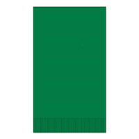 "Dark Green 15"" x 17"" Dinner Napkins - Case of 1000"