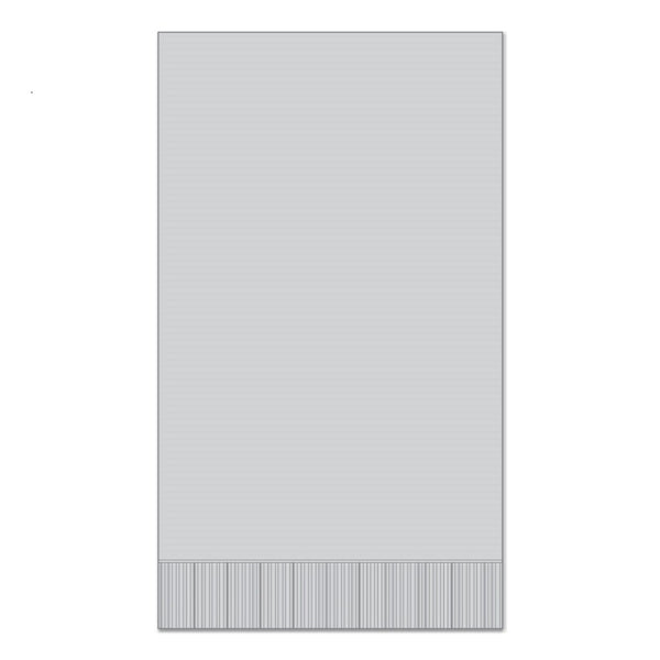 "Grey 15"" x 17"" Dinner Napkins - Case of 1000"