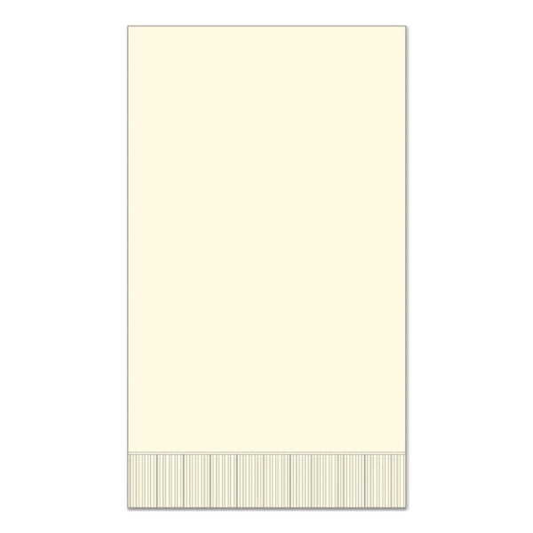 "Ivory 15"" x 17"" Dinner Napkins - Case of 1000"