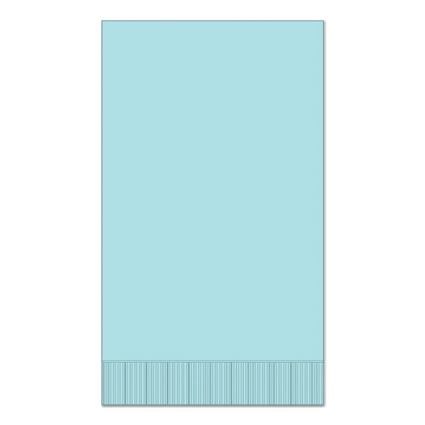 "Light Blue 15"" x 17"" Dinner Napkins - Case of 1000"