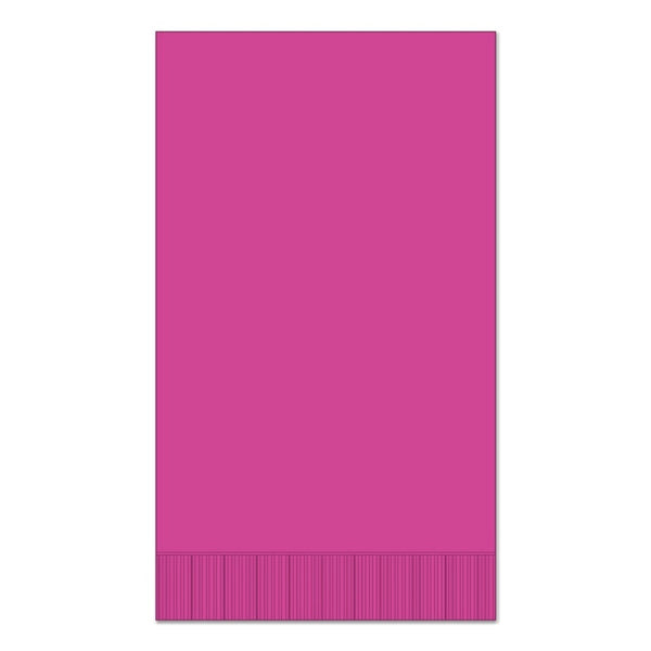 "Magenta 15"" x 17"" Dinner Napkins - Pack of 100"