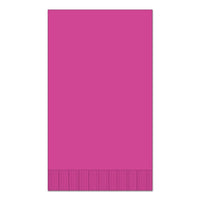 "Magenta 15"" x 17"" Dinner Napkins - Case of 1000"
