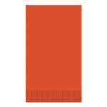 "Orange 15"" x 17"" Dinner Napkins - Case of 1000"
