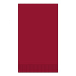 "Red 15"" x 17"" 2-Ply Dinner Napkins - Pack of 100"