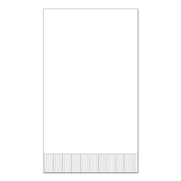 "White 15"" x 17"" Dinner Napkins - Pack of 100"