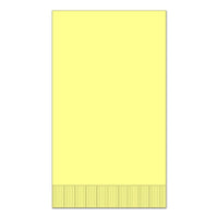 "Yellow 15"" x 17"" Dinner Napkins - Case of 1000"