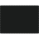 "Black 10"" x 14"" Placemats - Case of 1000"