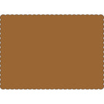 "Brown 10"" x 14"" Placemats - Case of 1000"