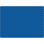 "Dark Blue 10"" x 14"" Placemats - Case of 1000"
