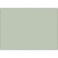 "Grey 10"" x 14"" Placemats - Case of 1000"