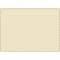 "Ivory 10"" x 14"" Placemats - Case of 1000"