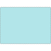 "Light Blue 10"" x 14"" Placemats - Case of 1000"
