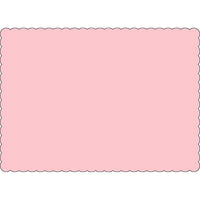 "Pink 10"" x 14"" Placemats - Case of 1000"