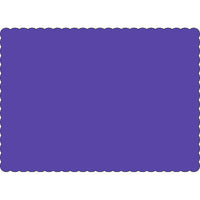 "Purple 10"" x 14"" Placemats - Case of 1000"