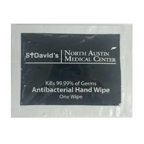 Custom St David's North Austin Anti-Bacterial Hand Wipes