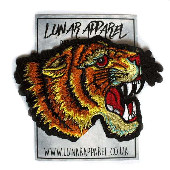 Roaring Tiger Patch (Iron on)