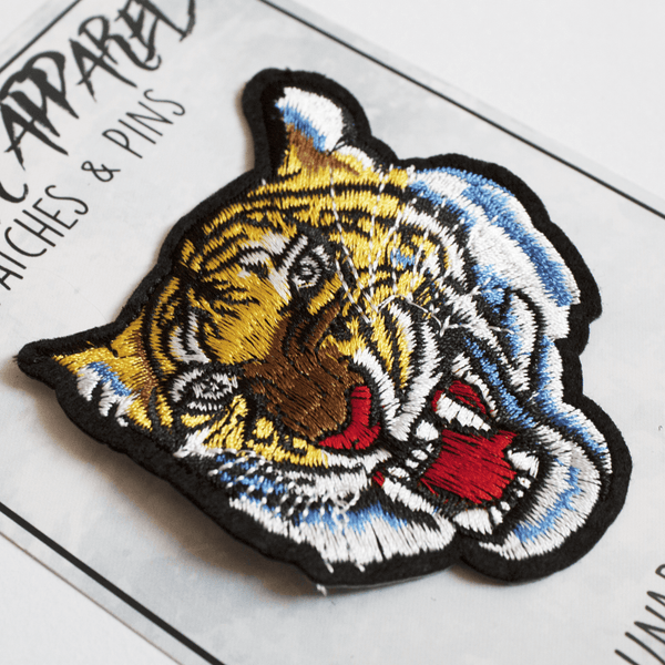 Tiger Head Patch (Iron on)