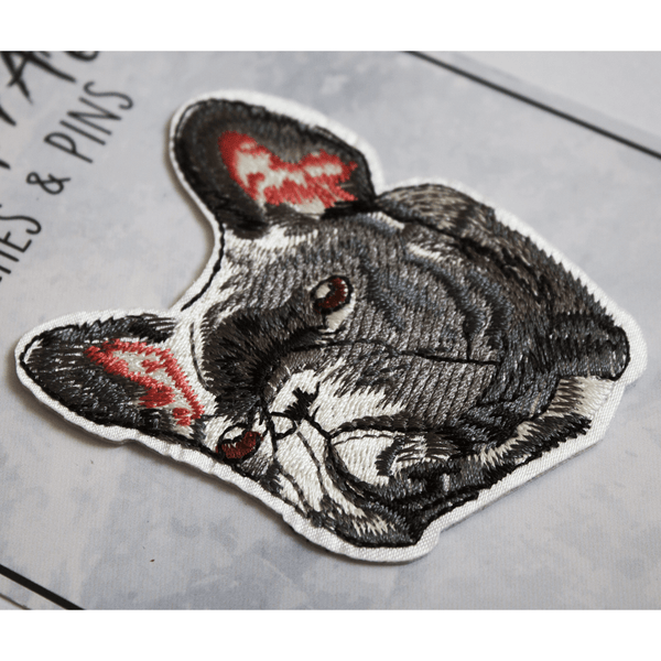 French Bulldog Patch (Iron on)