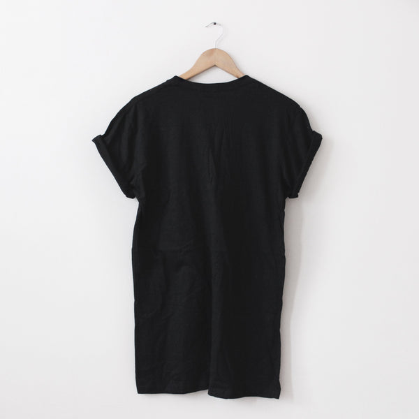Essential Long-Line Tee - Lunar Apparel - Alternative Pop-Punk Clothing