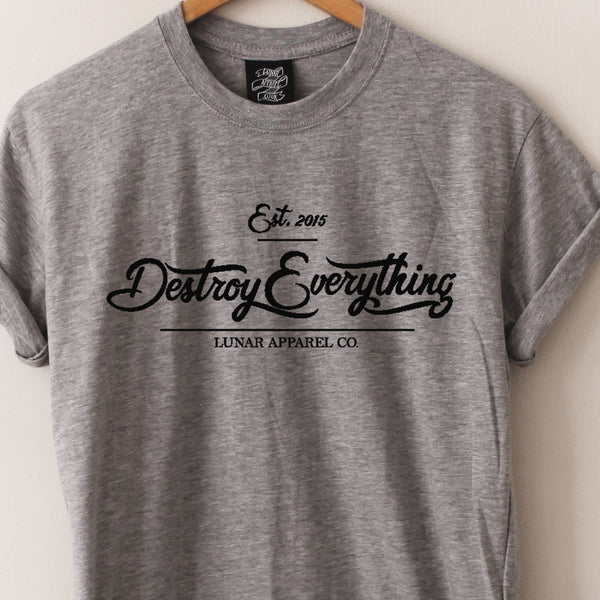 Destroy Everything Tee - Lunar Apparel - Alternative Pop-Punk Clothing