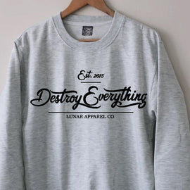 Destroy Everything Sweater - Lunar Apparel - Alternative Pop-Punk Clothing