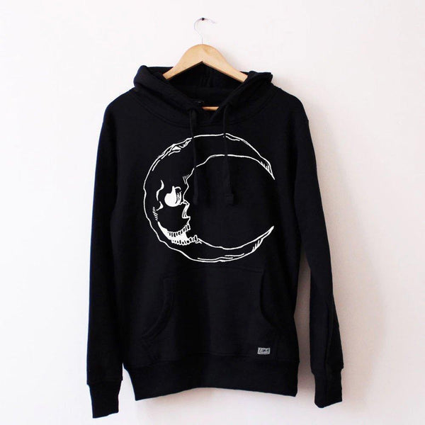 Moon Hoodie - Lunar Apparel - Alternative Pop-Punk Clothing
