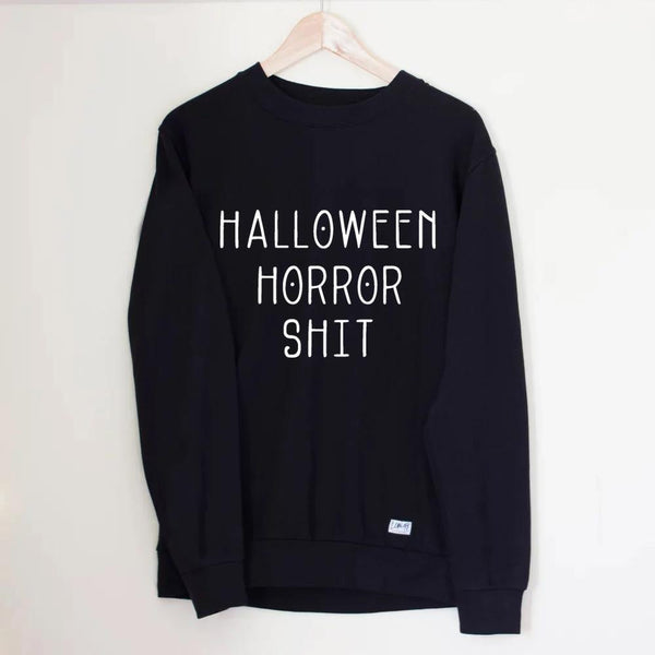 Halloween Horror Shit Sweater - Lunar Apparel - Alternative Pop-Punk Clothing