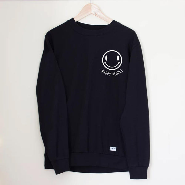 Happy People Sweater - Lunar Apparel - Alternative Pop-Punk Clothing