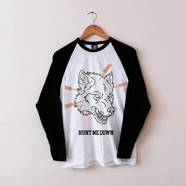 Hunt Me Down Baseball Tee