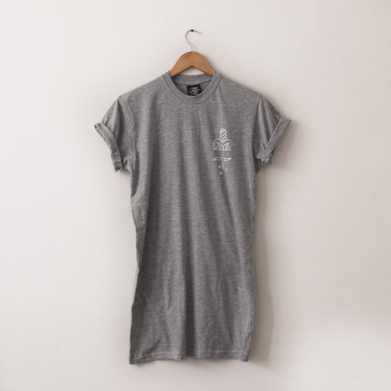In The Chest Long-Line Tee