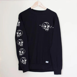 Skullshot Sweater - Lunar Apparel - Alternative Pop-Punk Clothing
