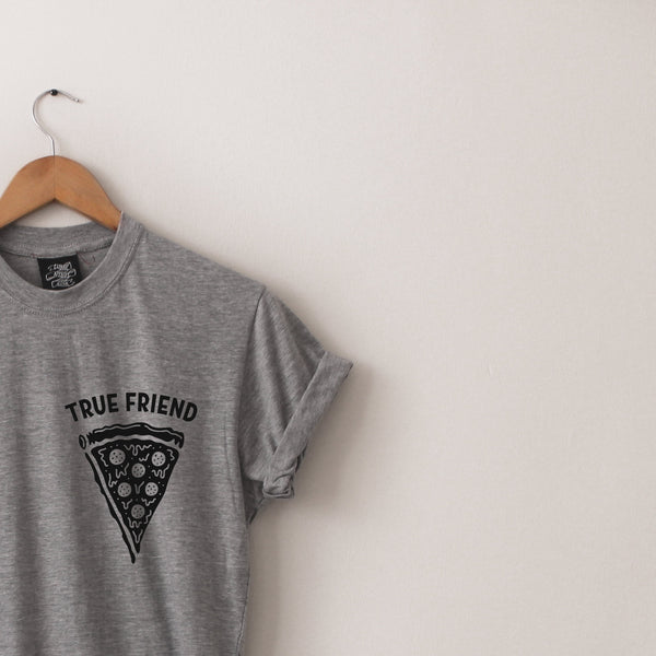 True Friend Long-Line Tee - Lunar Apparel - Alternative Pop-Punk Clothing