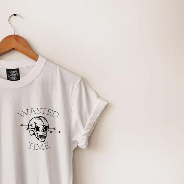Wasted Time Long-Line Tee