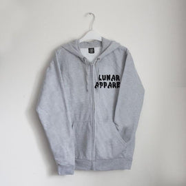 Melted Zip Hoodie - Lunar Apparel - Alternative Pop-Punk Clothing