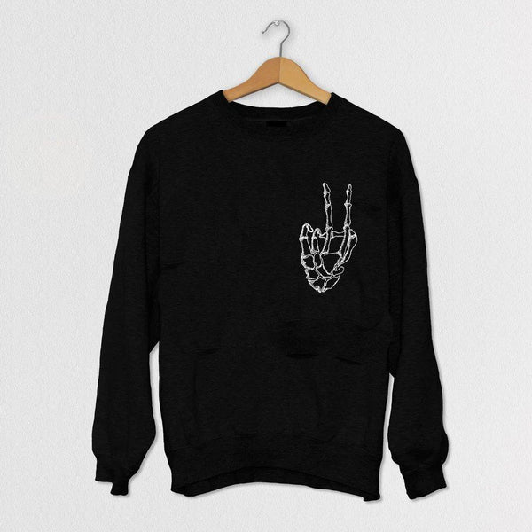 Reverse Peace Sweater