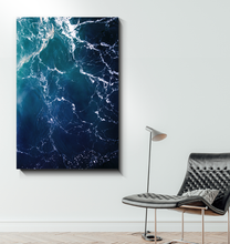 Load image into Gallery viewer, Waves From Above - Wrapped Canvas Art