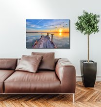 Load image into Gallery viewer, Sunset On The Dock - Premium Acrylic Print
