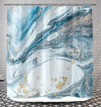 Load image into Gallery viewer, Abstract Water - Shower Curtain