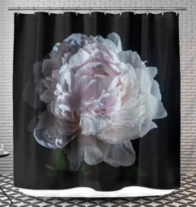 Pink Peony - Shower Curtain
