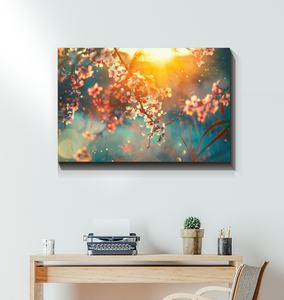 Cherry Blossoms - Wrapped Canvas Art