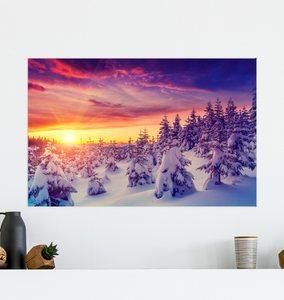 Winter Sunrise - Poster Art