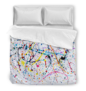 Splattered Paint - Comforter