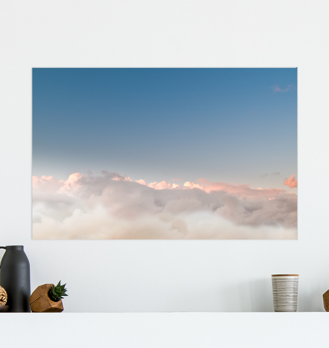Flying Above The Clouds - Poster Art
