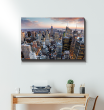 Load image into Gallery viewer, New York City Skyline - Wrapped Canvas Art