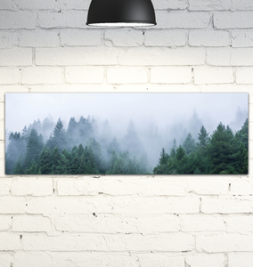 Forest Fog - Wrapped Canvas Art