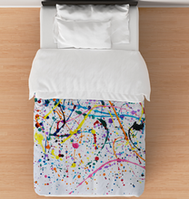 Load image into Gallery viewer, Splattered Paint - Comforter