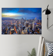 Load image into Gallery viewer, Chicago Skyline - Poster Art