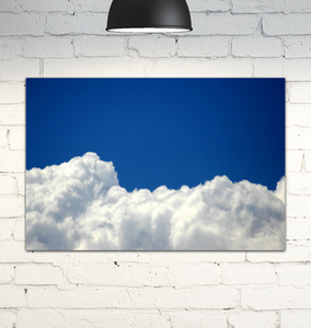 Floating On Clouds - Wrapped Canvas Art