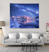 Load image into Gallery viewer, Milky Way In The Arctic - Wall Tapestry