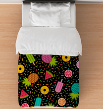 Load image into Gallery viewer, Fruit Party - Duvet Cover